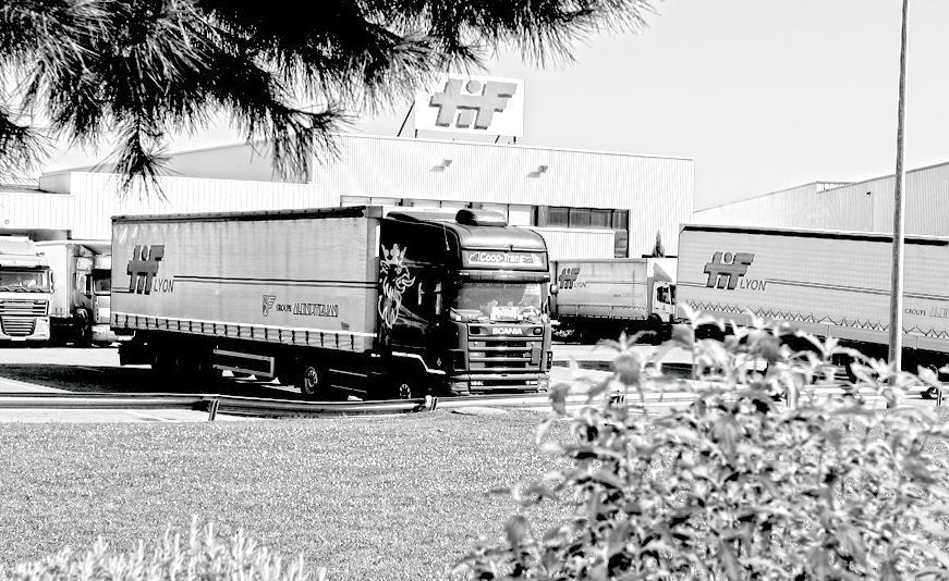 Notre flotte en propre au départ de nos sites en France